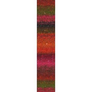 Noro Silk Garden Sock #84 Orange, Red, Pink