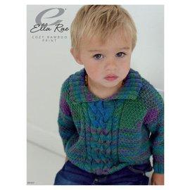 Ella Rae Cozy Bamboo Pattern - Woodrow Sweater