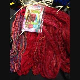 Mountain Colors Warm & Wooly Throw - Jewel