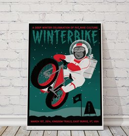 "MTBVT Limited Edition Winterbike ""Space Monkey"" Print"