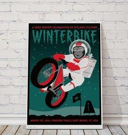"MTBVT Limited Edition Winterbike ""Space Monkey"" Print"