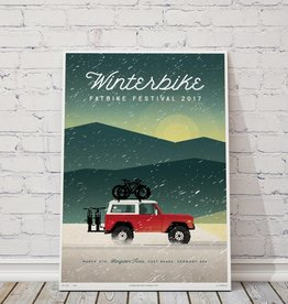 "MTBVT Limited Edition Winterbike ""Bronco"" Print"