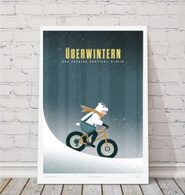 "MTBVT Limited Edition Uberwintern ""Bear Suit"" Print"