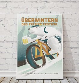 "MTBVT Limited Edition Uberwintern ""Angular Bear"" Print"