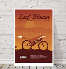 MTBVT MTBVT Limited Edition Leaf Blower Print