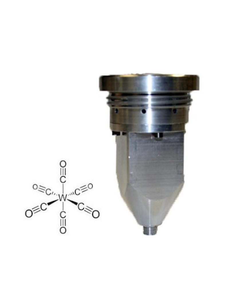Material for Tungsten deposition, in crucible