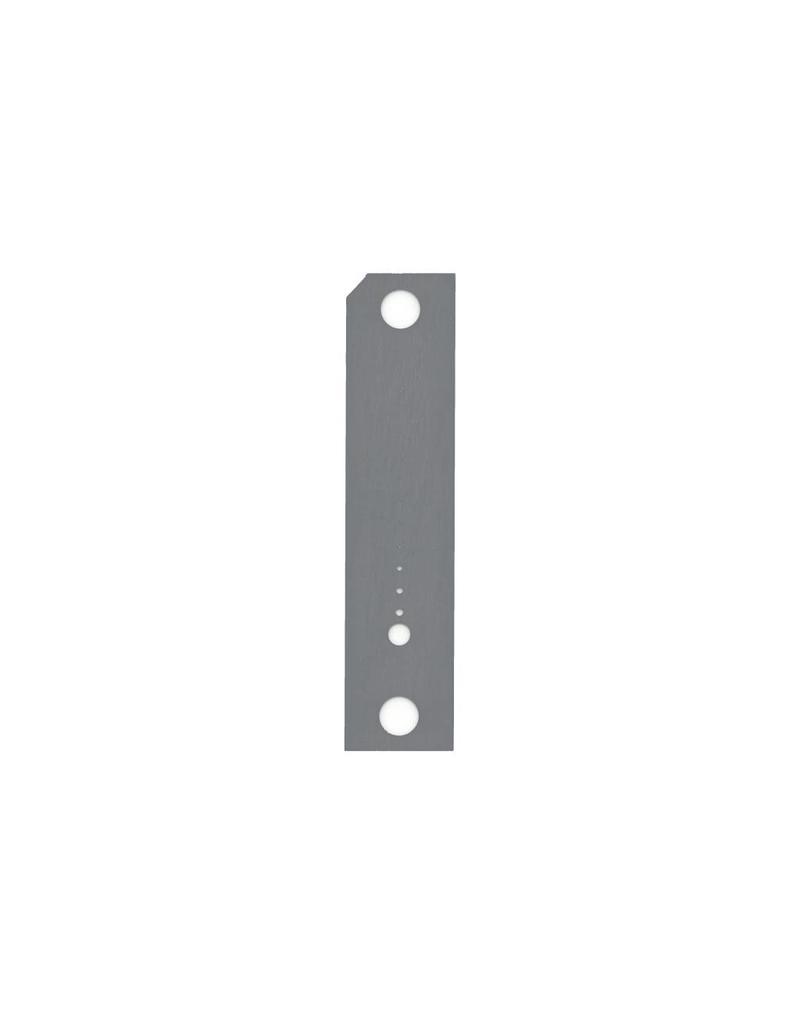 Aperture Strip for FEI Magnum FIB, custom hole sizes