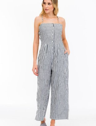 Jumpsuits Bondi Cross Back Jumpsuit