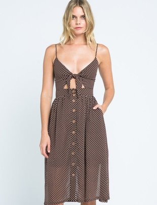 dresses Maho Polkadot Midi Dress