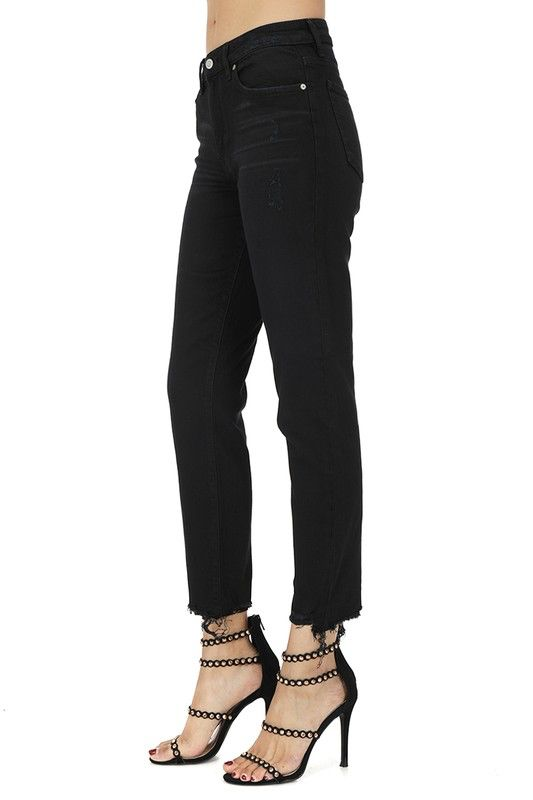 Bottoms Tobi High Rise relaxed Crop