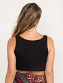 tops Ribbed Crop Tank