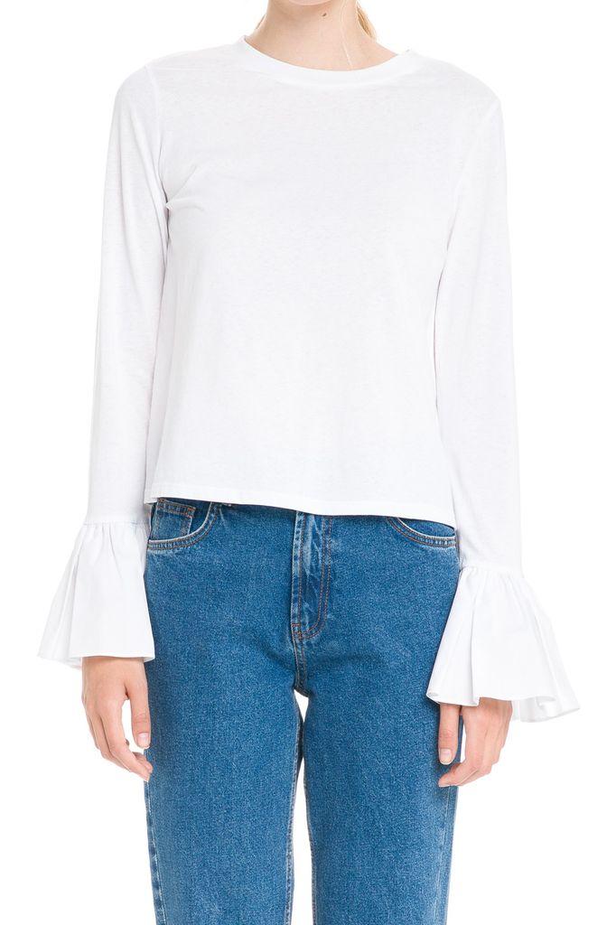 tops L/S T-shirt W/wide Cuff