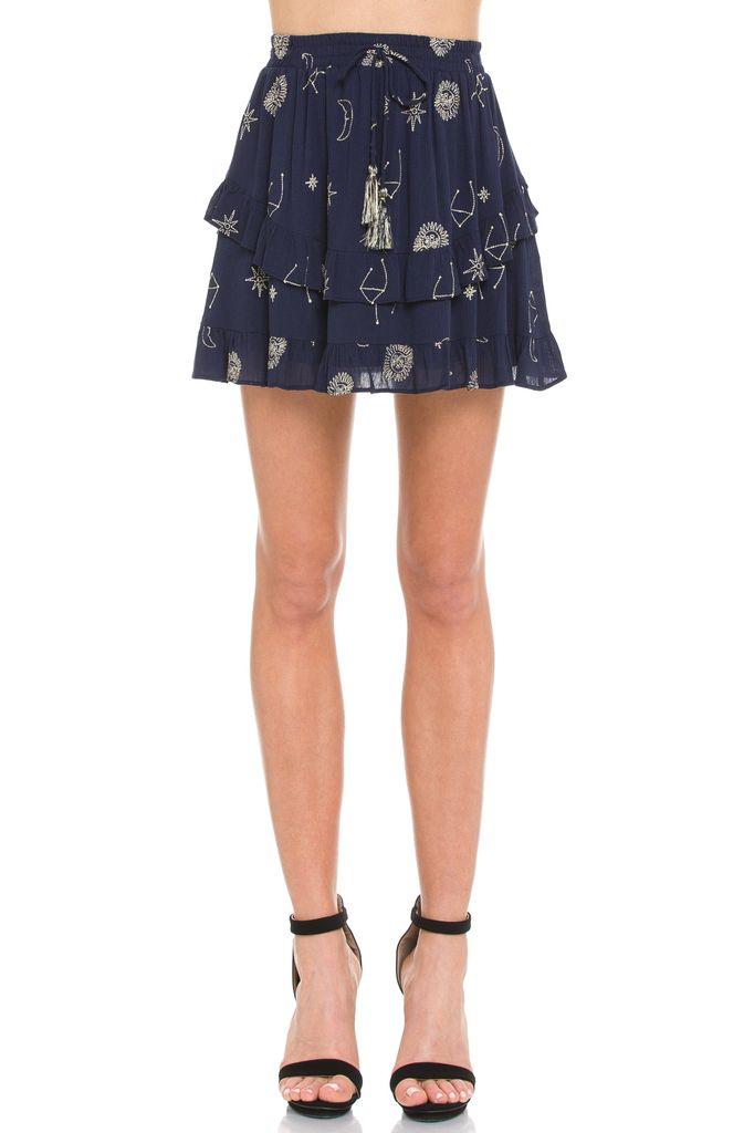 Skirt Constellation Mini Skirt