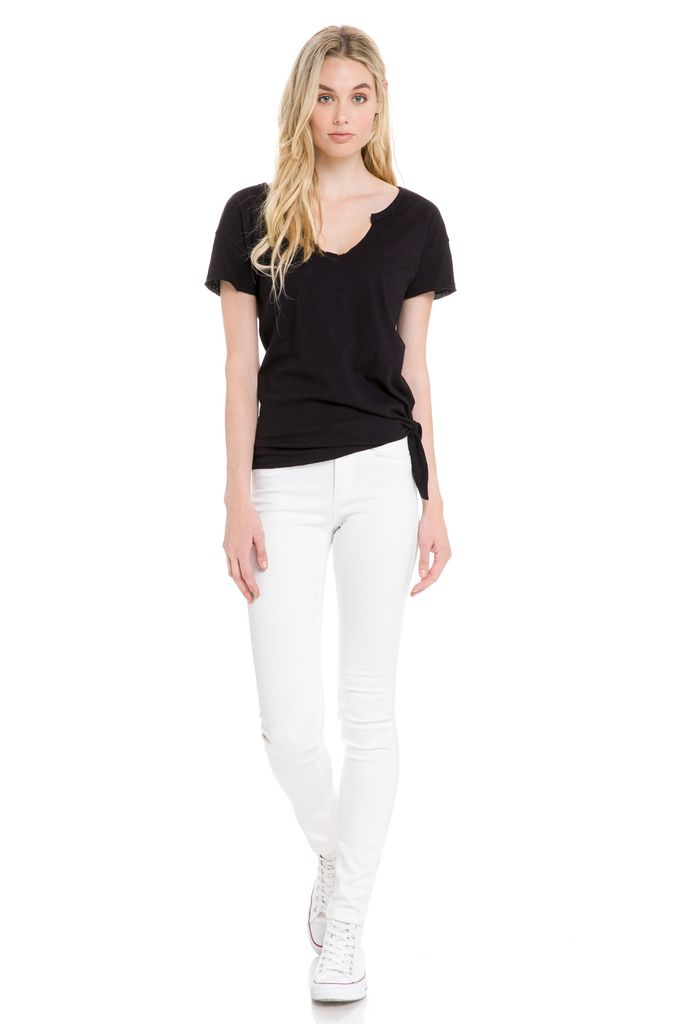 Tees Tee W/side Knot Detail