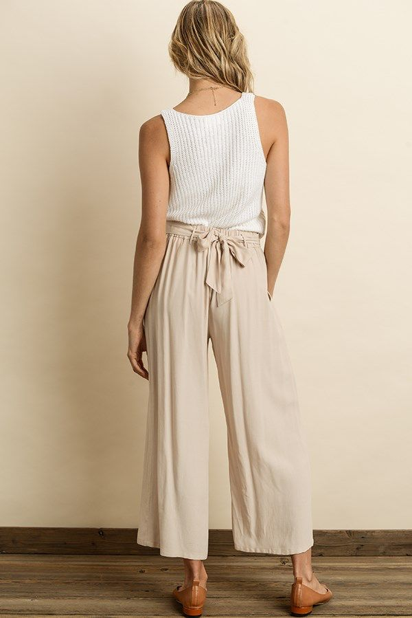 Bottoms Melenia Wide Leg Pants