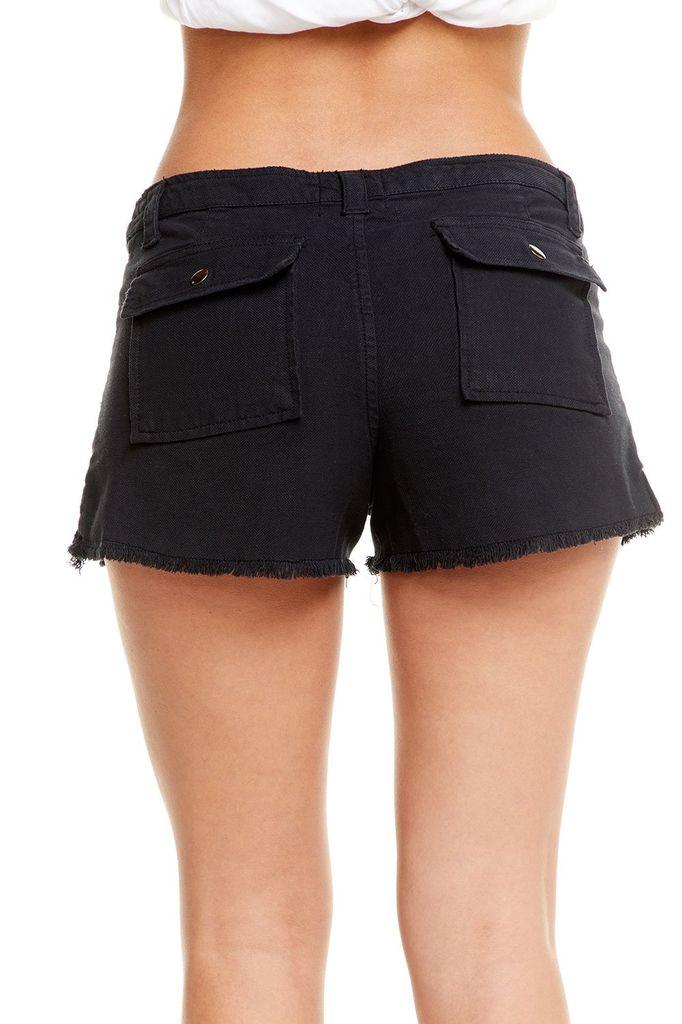 shorts Vintage Canvas Frayed utility Short
