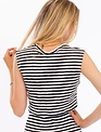tops Striped Crop Tank
