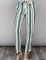 Bottoms Stripe Paperbag Pants