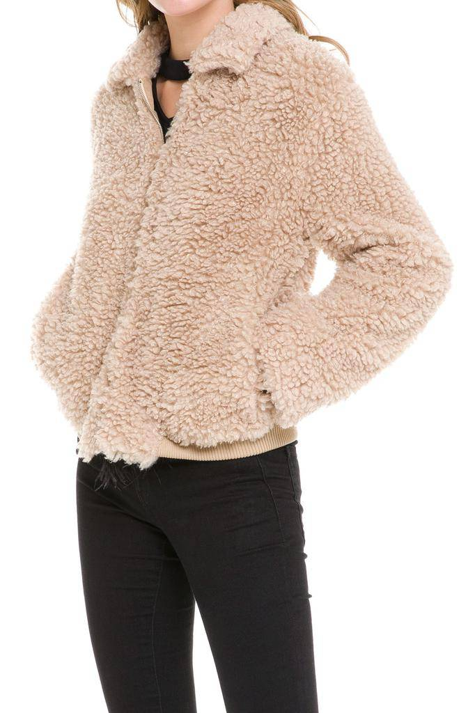 jackets Teddy Bear Bomber Jacket