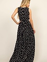 maxi Polka Dot Goddess Maxi Dress