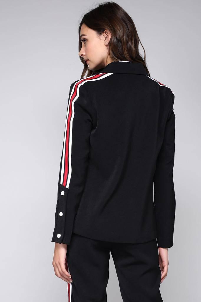 jackets Blazer With Side Stripe
