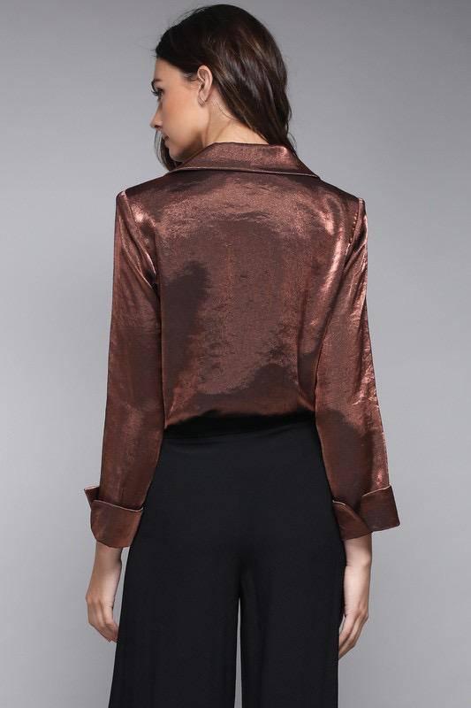 Metallic Bodysuit