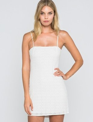 dresses Mazo Eyelet Mini Dress