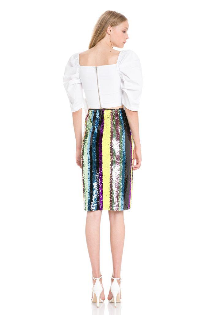 Skirt Sequinned Midi Skirt