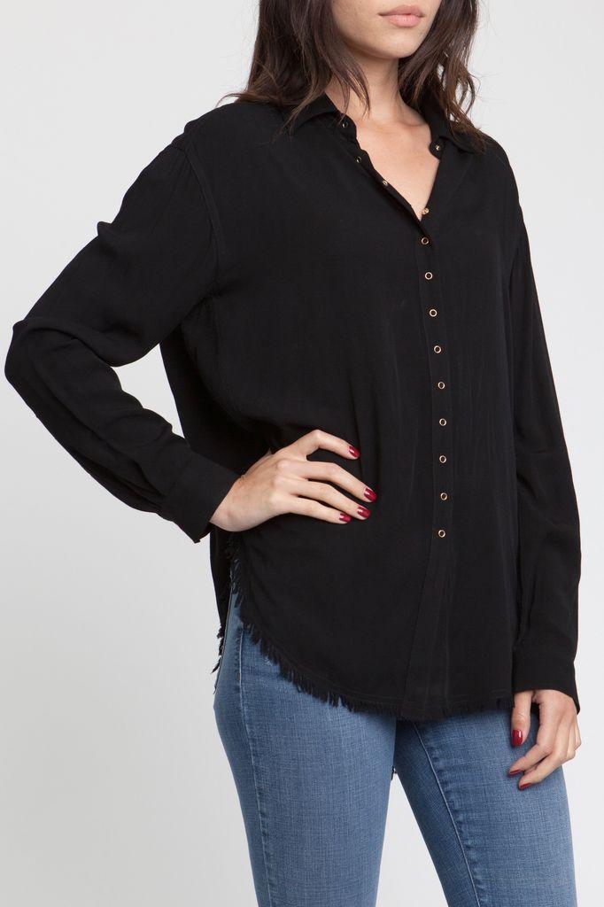 Shirt Liv L/s Snap Up Shirt