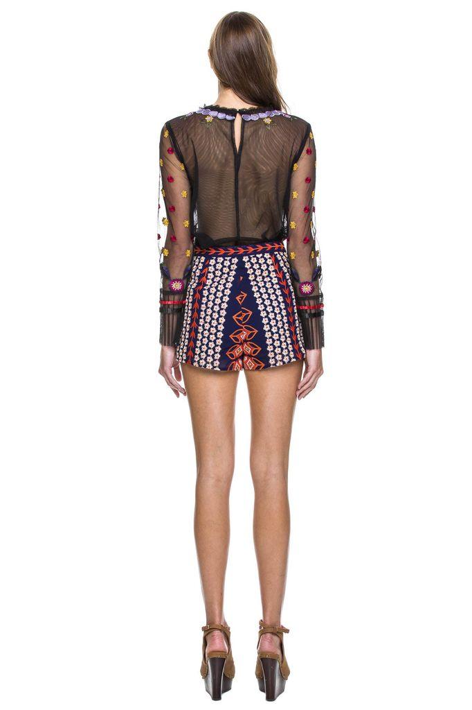 shorts Embroidered Shorts