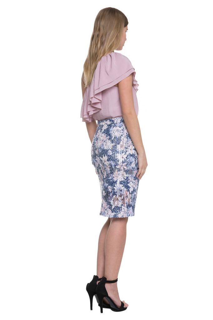 Skirt Sequin Pencil Skirt