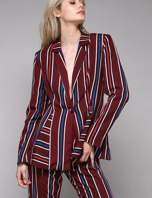 jackets Stripe Multi Blazer