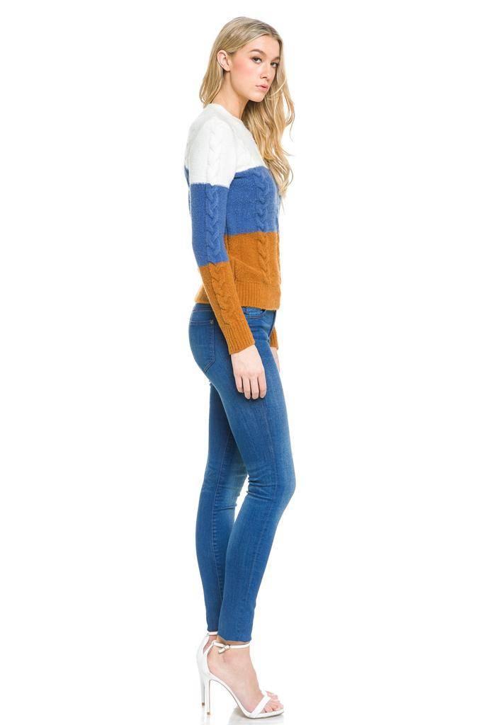 sweaters Colorblock Sweater