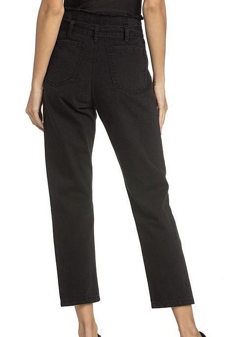 Jeans Waist Tie Crop jeans
