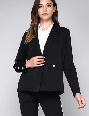 jackets Blazer With Side Stripe