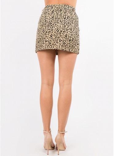 Skirt Leopard Skirt