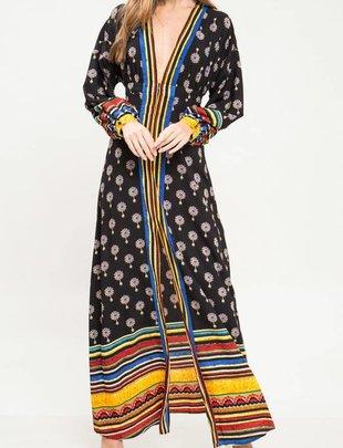 maxi Ethnic Maxi Dress