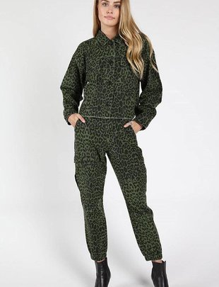 Bottoms Leopard Cargo Pants