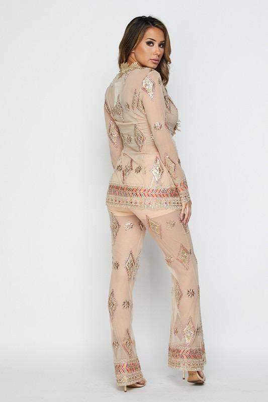 Bottoms Claire Pattern Pants
