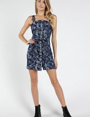dresses Button Down Camo Dress