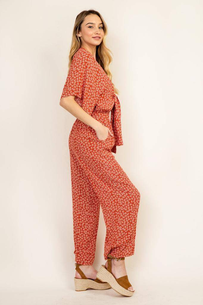 Jumpsuits Blossom Jumpsuit With Pockets