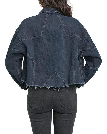 jackets Celeste Star-Back Denim Jacket