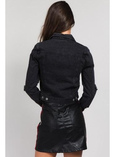 jackets Milla Destroyed Denim Jacket