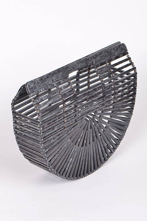 Handbags Acrylic Clutch