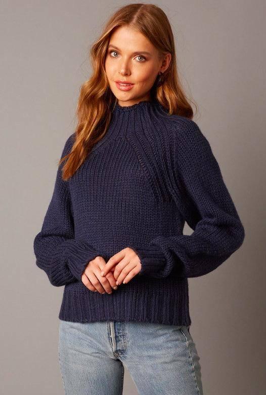 sweaters Bronwen High Neck Sweater