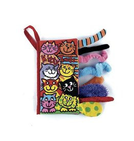 Book, Kitty Tails, Fabric