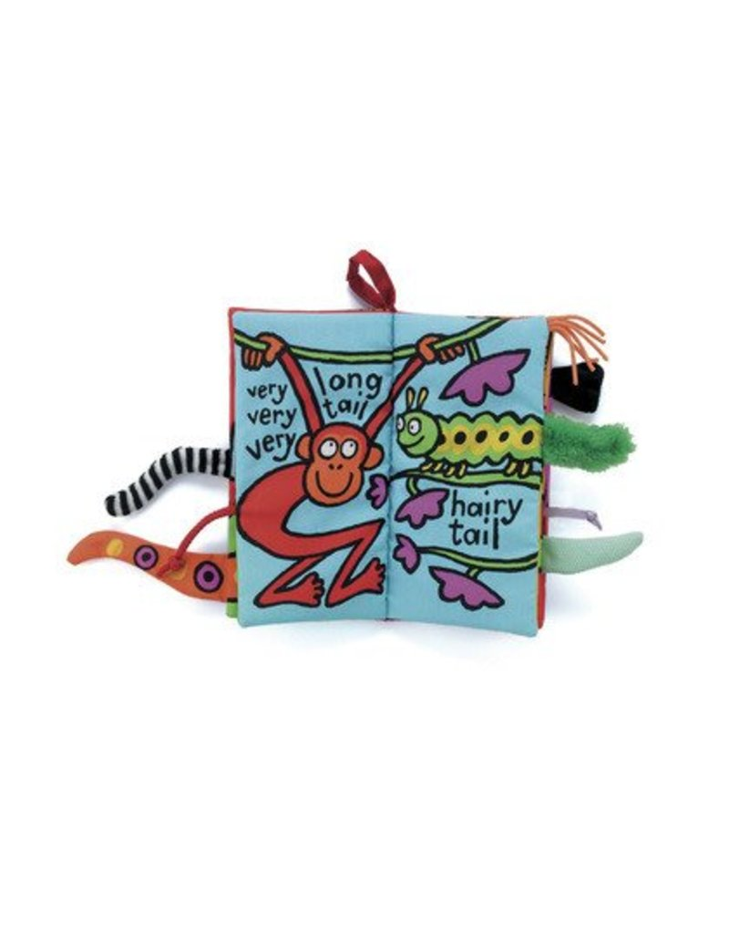 Book, Silly Tails, Fabric