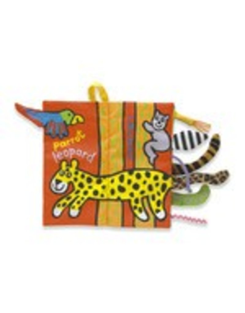 Book, Jungly Tails, Fabric
