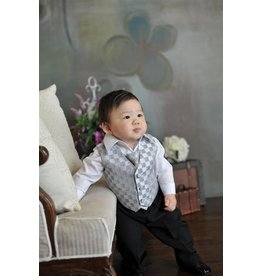 Suit/Vest/Shirt/Tie/Pants Set, Sz 6 mo. to 24 mo.