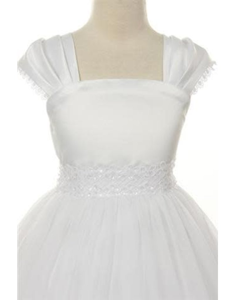 Dress, Cap Sleeve, Sequins/Tulle
